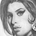 Amy Winehouse by Karen Townsend