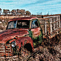 An Abandoned Truck by Tommy Anderson