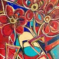 An Abstract Floral by Kathy Othon