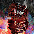 An Abstracted Peter Iredale by Kay Brewer