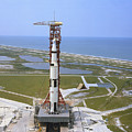 An Aerial View Of The Apollo 15 by Stocktrek Images