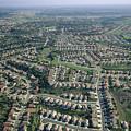 An Aerial View Of Urban Sprawl by Joel Sartore