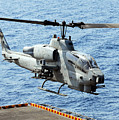 An Ah-1w Super Cobra Helicopter by Stocktrek Images