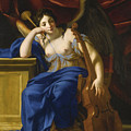 An Allegory Of Poetry by Eustache Le Sueur