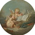 An Allegory Of Poetry by Francois Boucher