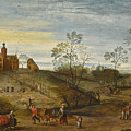 An Allegory Of Spring by Jacob Grimmer