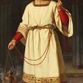 An Altar Boy by Abraham Solomon