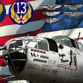 An American B-25c Pof by Tommy Anderson