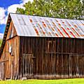 An American Barn 2 Painted by Steve Harrington