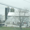 An Amish Barn In April by Christine Clark