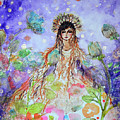 An Angel For All Of The Chakras And Her Name Is Simplicity by Ashleigh Dyan Bayer