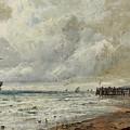 An April Day by Gustave De Breanski