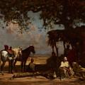 An Arab Encampment by Gustave Guillaumet