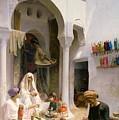 An Arab Weaver by Armand Point