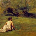 An Arcadian by Eakins Thomas