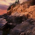 An Art Photograph Of  Bass Harbor Lighthouse,acadia Nat. Park Ma by Rusty R Smith