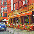 An Early Lunch On Mulberry Street by Digital Photographic Arts