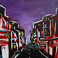 An Empty Street At 3 A.m. by Eliza Donovan