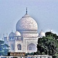 An Extraordinary View - The Taj Mahal by Kim Bemis