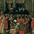 An Eyewitness Representation Of The Execution Of King Charles I by John Weesop