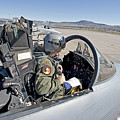 An F-15 Pilot Performs Preflight Checks by HIGH-G Productions