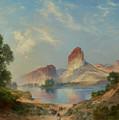 An Indian Paradise , Green River, Wyoming by Thomas Moran