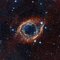 A Look In Infrared At The Helix Nebula by Nasa