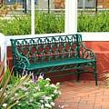 An Inviting Bench by Karen Silvestri