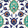 An Iznik Polychrome Tile, Turkey, Circa 1575, By Adam Asar, No 23h by Adam Asar
