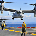 An Mv-22 Osprey Takes by Stocktrek Images