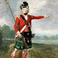 An Officer Of The Light Company Of The 73rd Highlanders by Scottish School