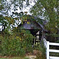 An Old Barn by Dragoslav Kirjas