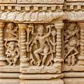 An Old Carving Of Shiva At Abhaneri by Nila Newsom