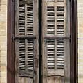 An Old Door In Neve Tzedek Tel Aviv by Shlomo Zangilevitch