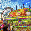 An Old Fashioned Midway by Mark Andrew Thomas