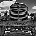 An Old International Truck by Tony Baca