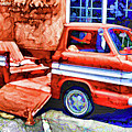 An Old Pickup Truck 2 by Jeelan Clark