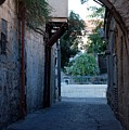 An Old Street In Jerusaem by Susan Heller