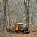 An Old Truck In The Woods. by Kurt Von Dietsch