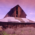 An Old Weathered Barn  by Jeff Swan