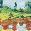 An Upland Meadow by Horacio Prada