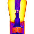 An X-ray Of Historic Audion Vacuum Tube by Ted Kinsman