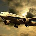 Ana Boeing 773 Ja784a by J Biggadike