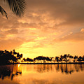 Anaehoomalu Bay Sunset by William Waterfall - Printscapes