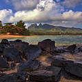 Anahola Beach Park On The Island Of Kauai, Hawaii by Sam Antonio Photography