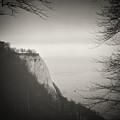 Analog Black And White Photography - Rugen Island - Koenigsstuhl Chalk Cliff by Alexander Voss