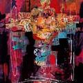 Anasazi Serenade 003 by Donna Frost