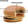 Anatomy Of A Generic Cheese Burger by Michael Ledray