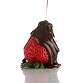 Anatomy Of The Choclate Covered Strawberry by Michael Ledray