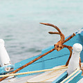 Anchor On A Boat In Maldives by Alexandru Bardinici